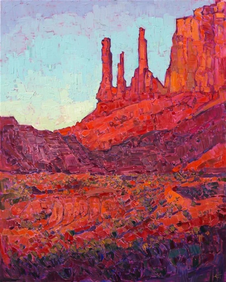 Art History The Evolution Of Landscape Painting And How Contemporary Artists Keep It Alive Contemporary Landscape Painting Landscape Artist Western Paintings