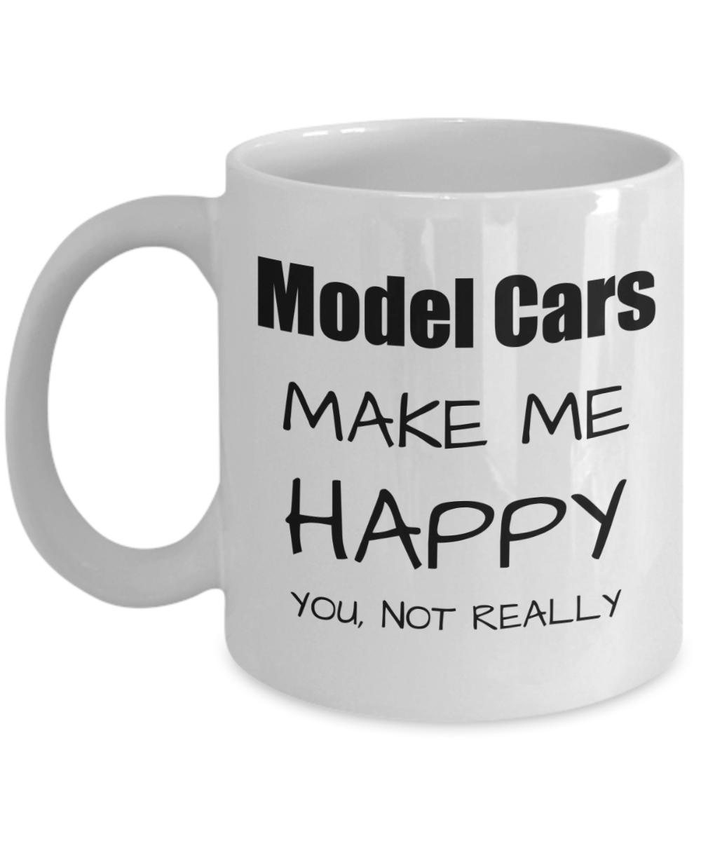 Model Cars Lover Gift Funny Models Car Fan Mug Hobby Birthday Idea Christmas