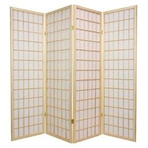 Original Asian Style Portable Partitions 5ft Window Pane Japanese