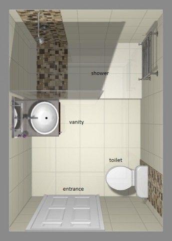 shower option skinny sink toilet - Bathroom Ideas South Africa
