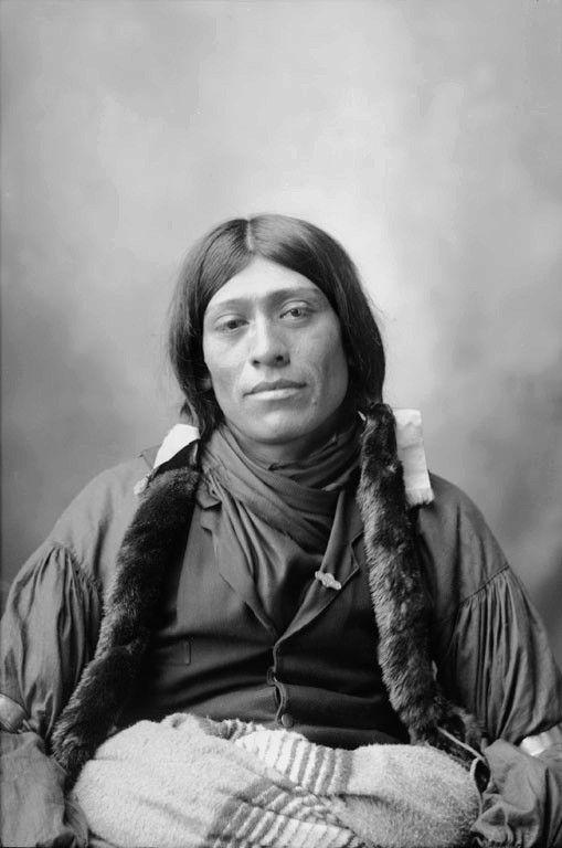 Wichita man. Photographed 1898.