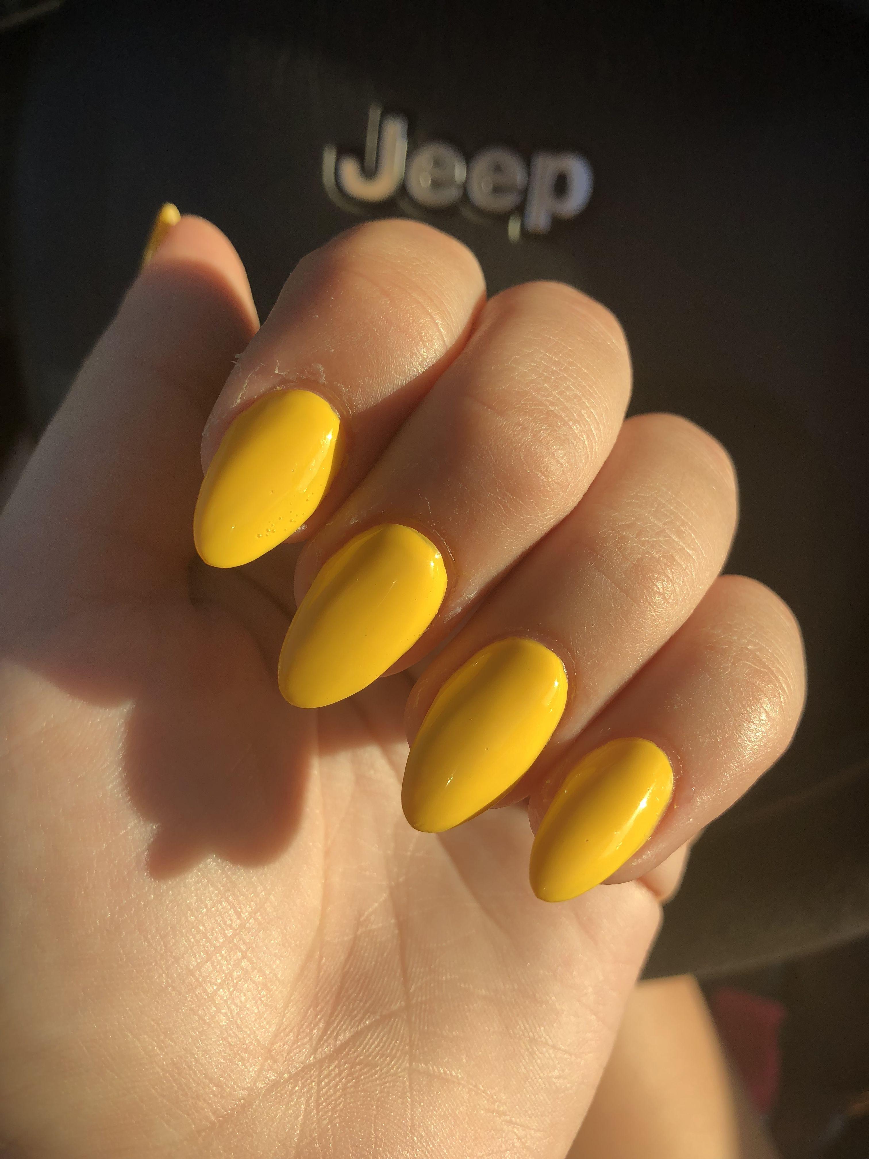 Yellow Acrylic Nails Acrylic Nails Yellow Nail Designs Summer Acrylic Yellow Nails