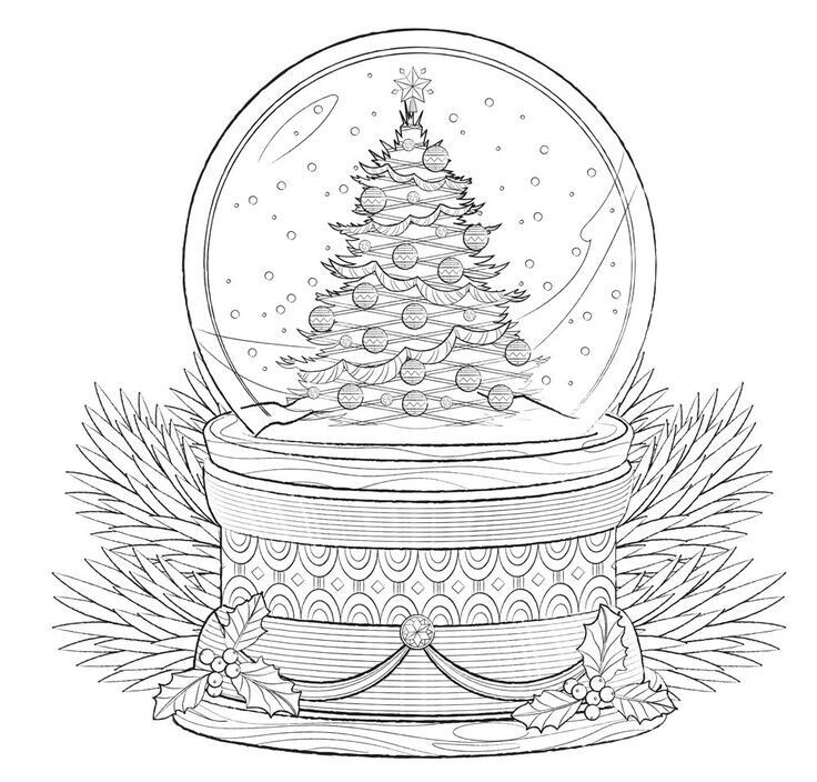 Pin By Iza Sachta On Colorir Tirados Da Net Christmas Coloring Sheets Coloring Pages Free Christmas Coloring Pages