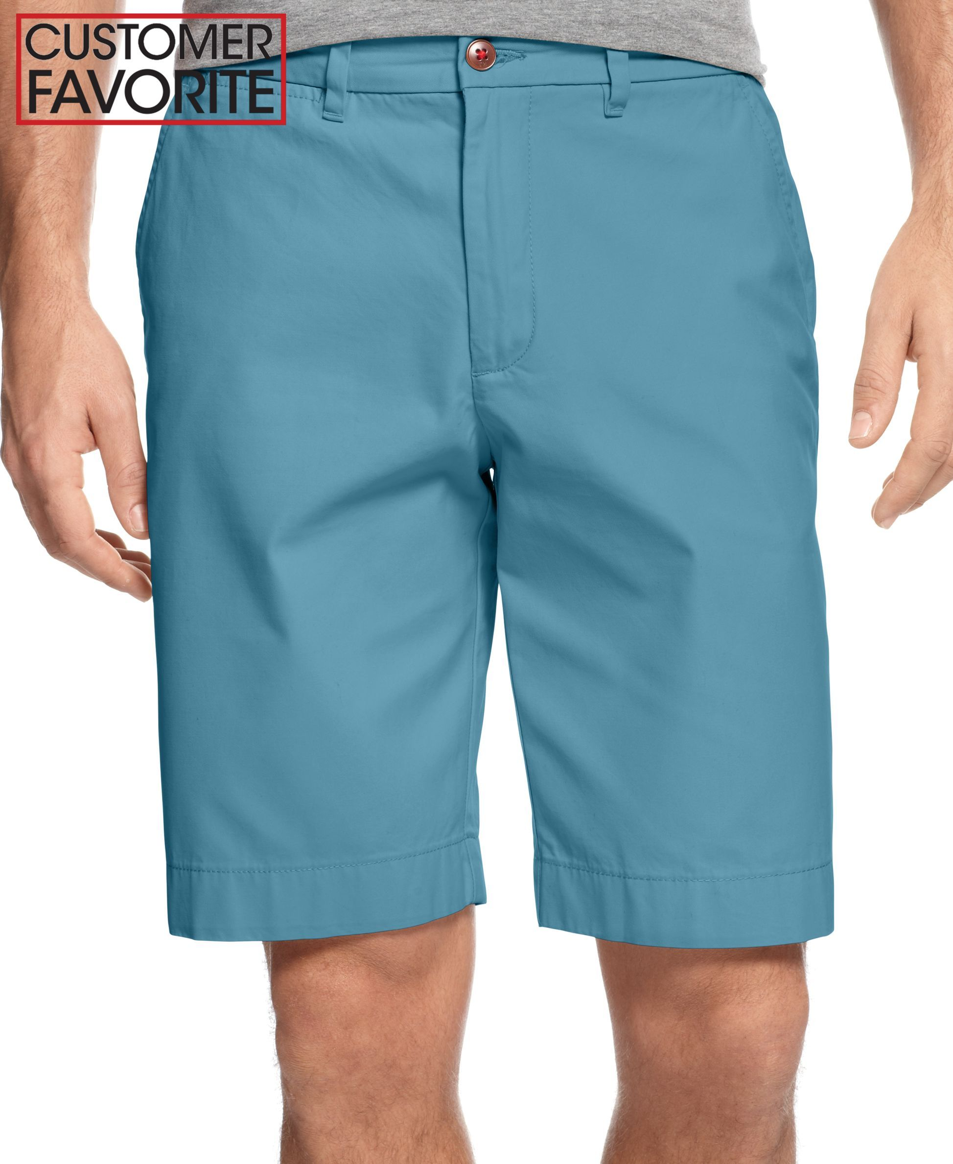 Tommy Hilfiger Classic-Fit Chino Shorts | Products | Pinterest ...
