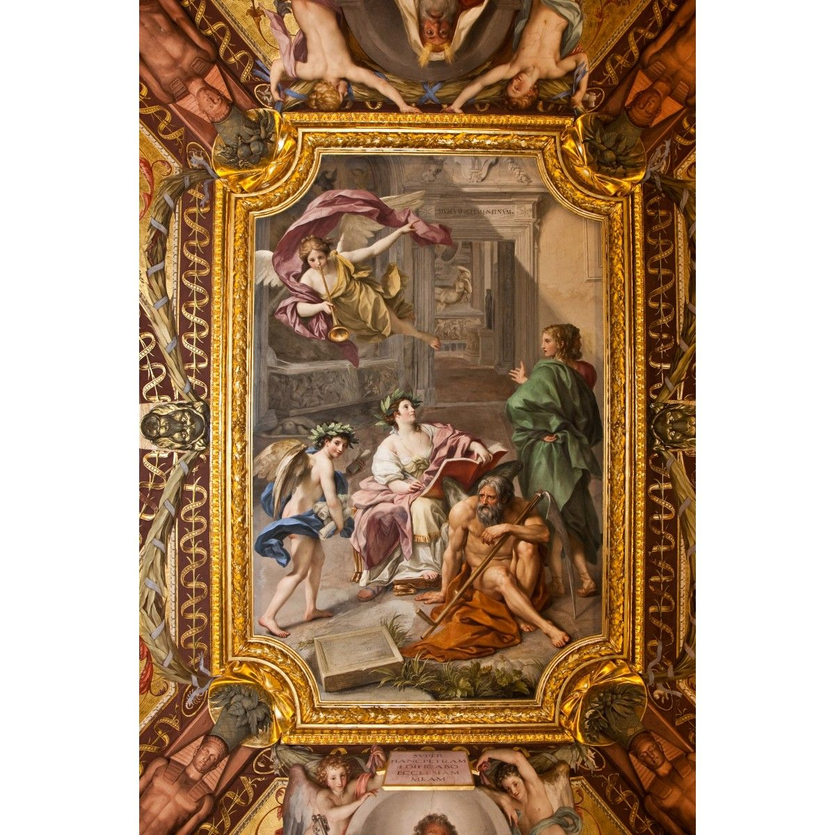 Ceiling Fresco Wall Mural Architecture Ceilings This