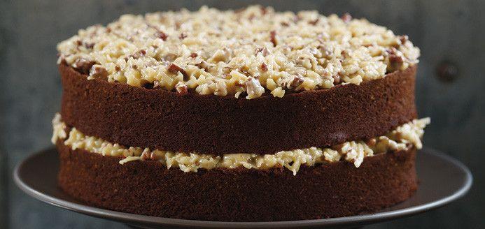 German Chocolate Cake Recette Sweet Chocolate Cake