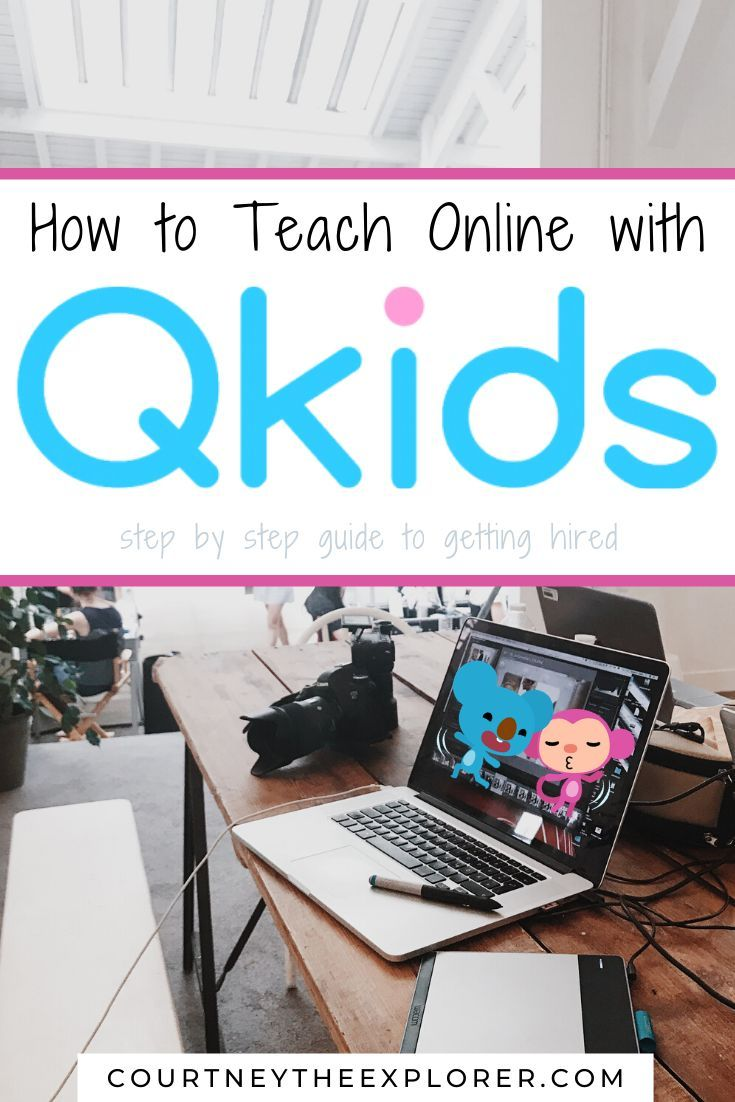 Teach Online with QKids in 2020 Online teaching