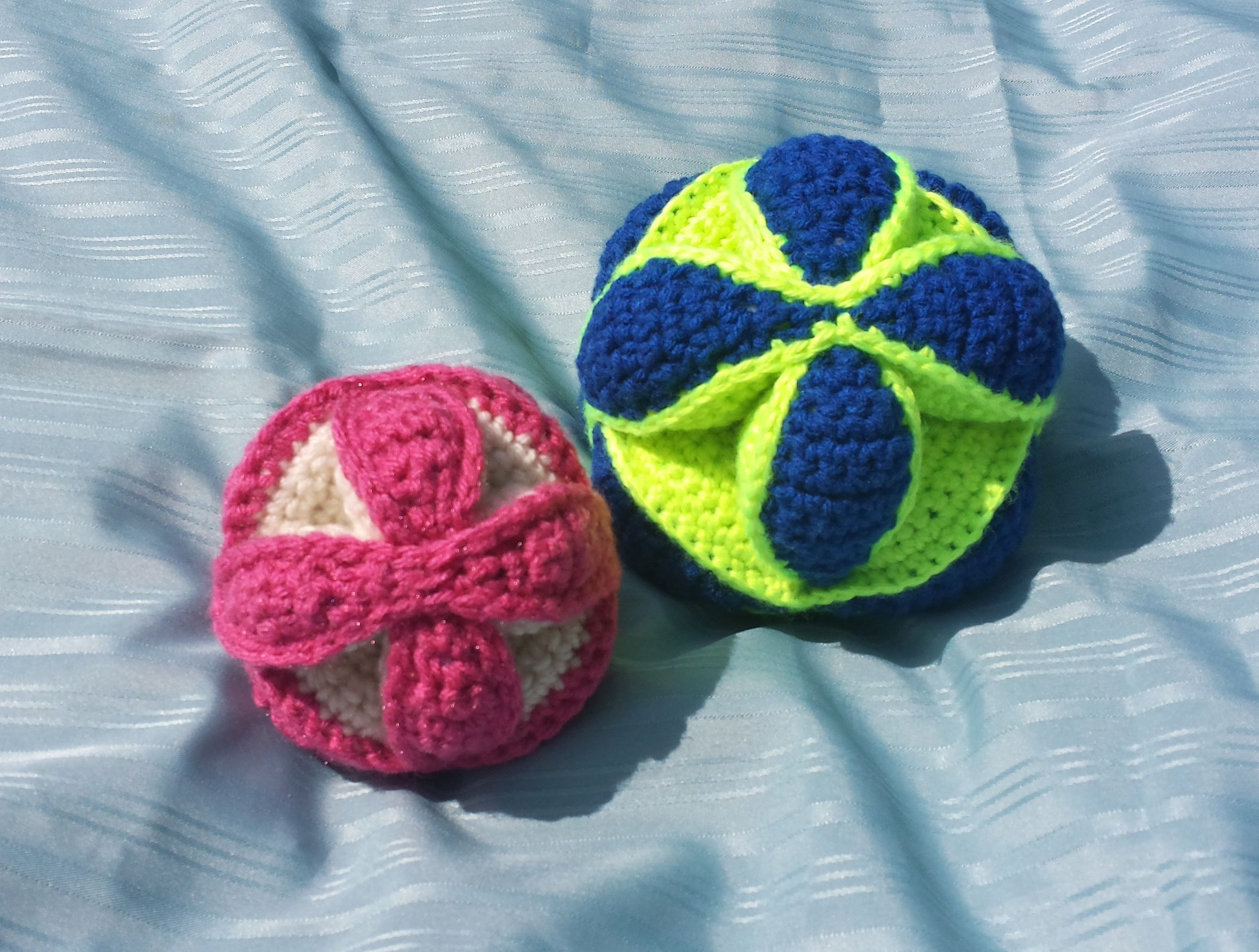 Amish Puzzle Balls, 2 sizes | Crochet Patterns | Pinterest