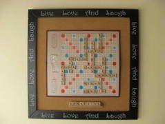 scrabble family art