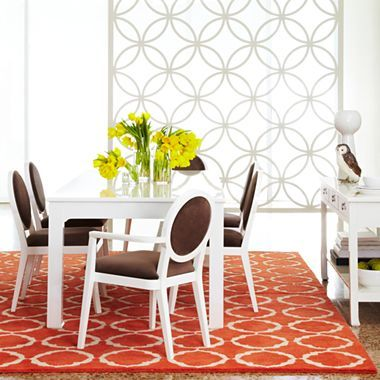 Hy Chic By Jonathan Adler Crescent Heights 84 Dining Table Jcpenney