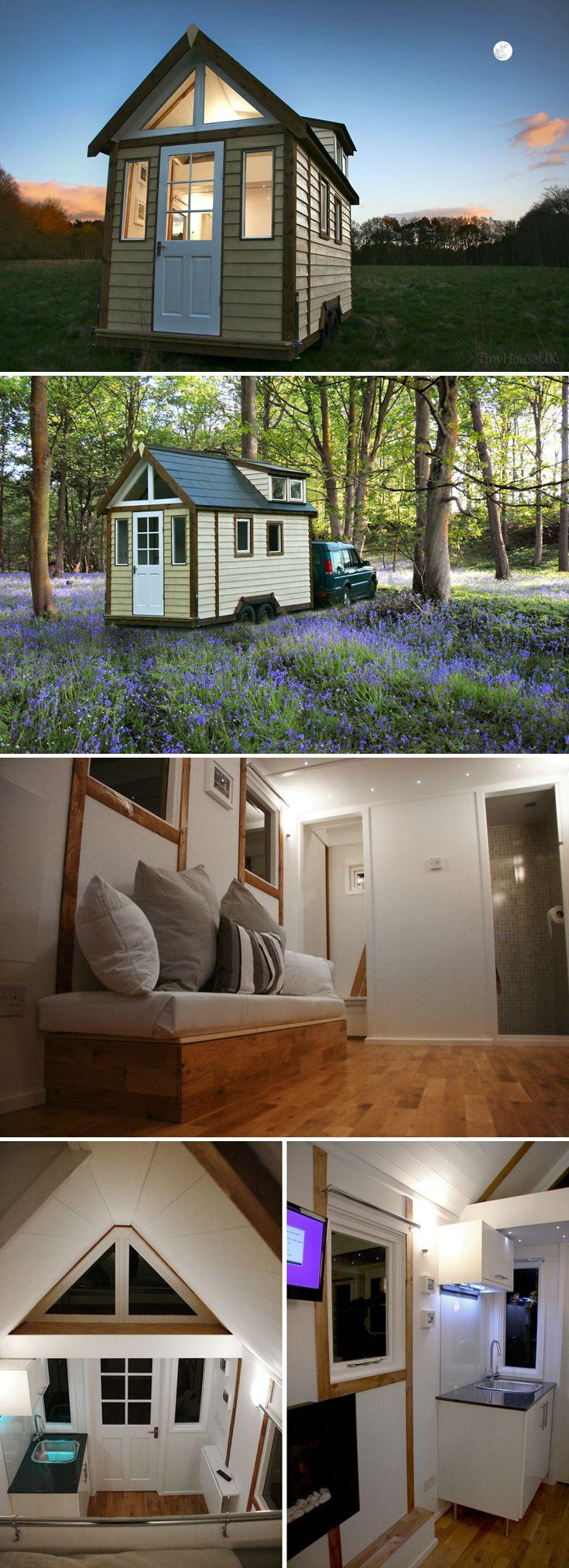 Tiny House UK by Mark Burton Small tiny house, Tiny