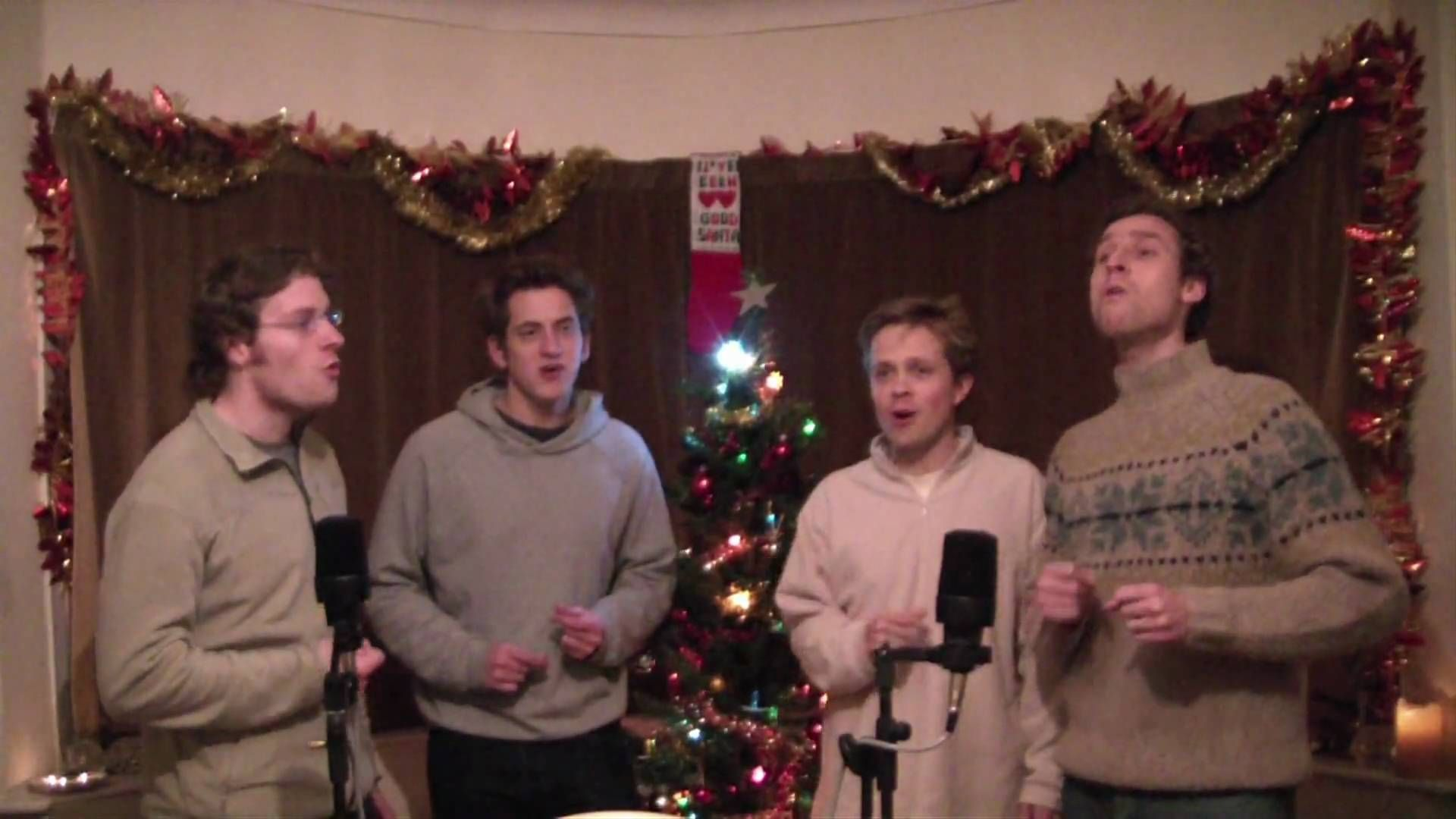 beach boys smile sing ill be home for christmas acapella