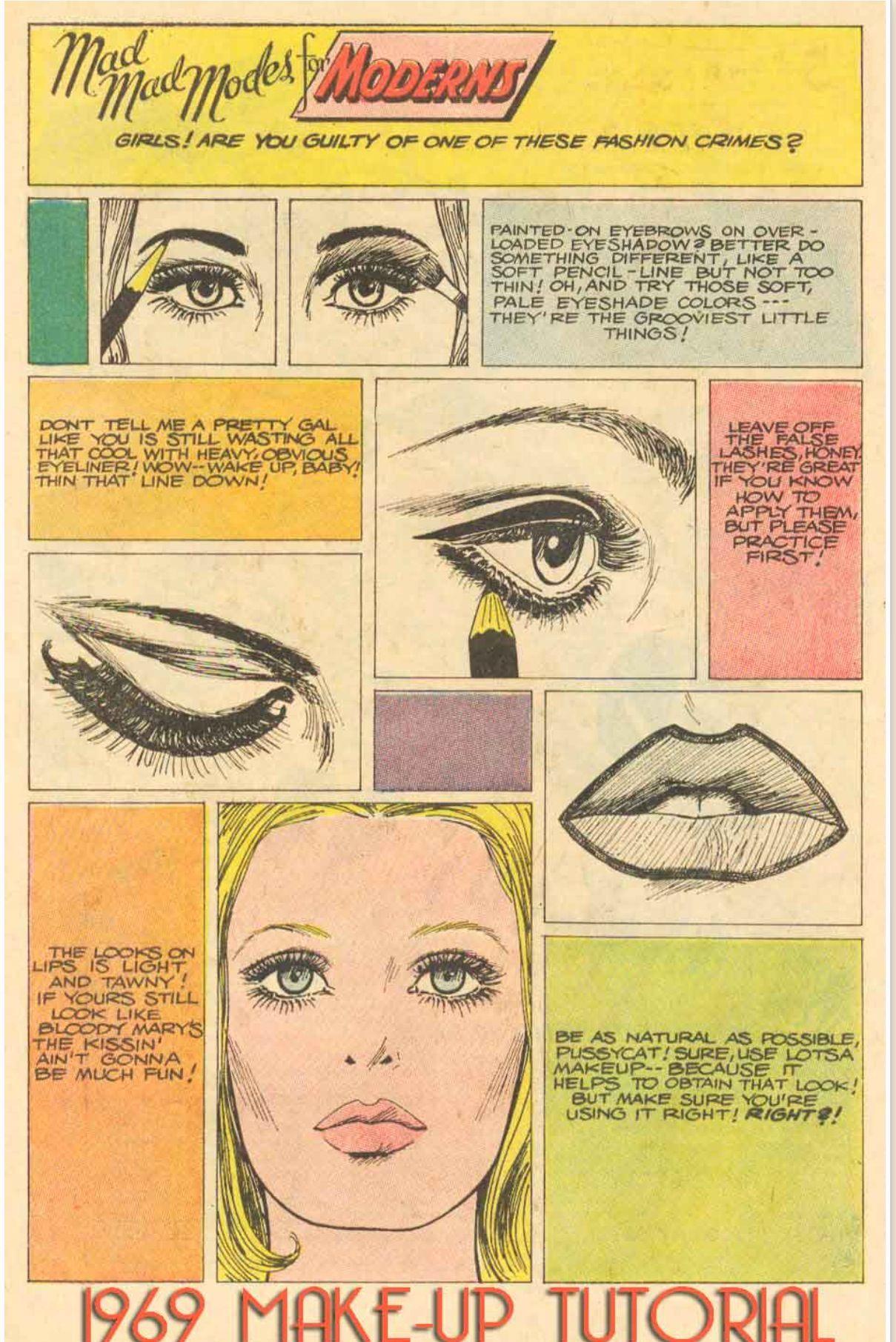 Hippie Makeup Tutorial With Images Retro Makeup Vintage