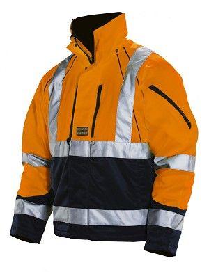 High Visibility Winter Jacket Winter Jackets Mens Workwear Work Wear