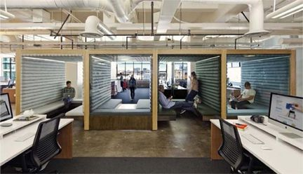 Designing spaces for creative collaboration google for Flex space
