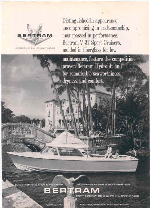 Bertram Boat History And Fishing Boat For Sale Fishing