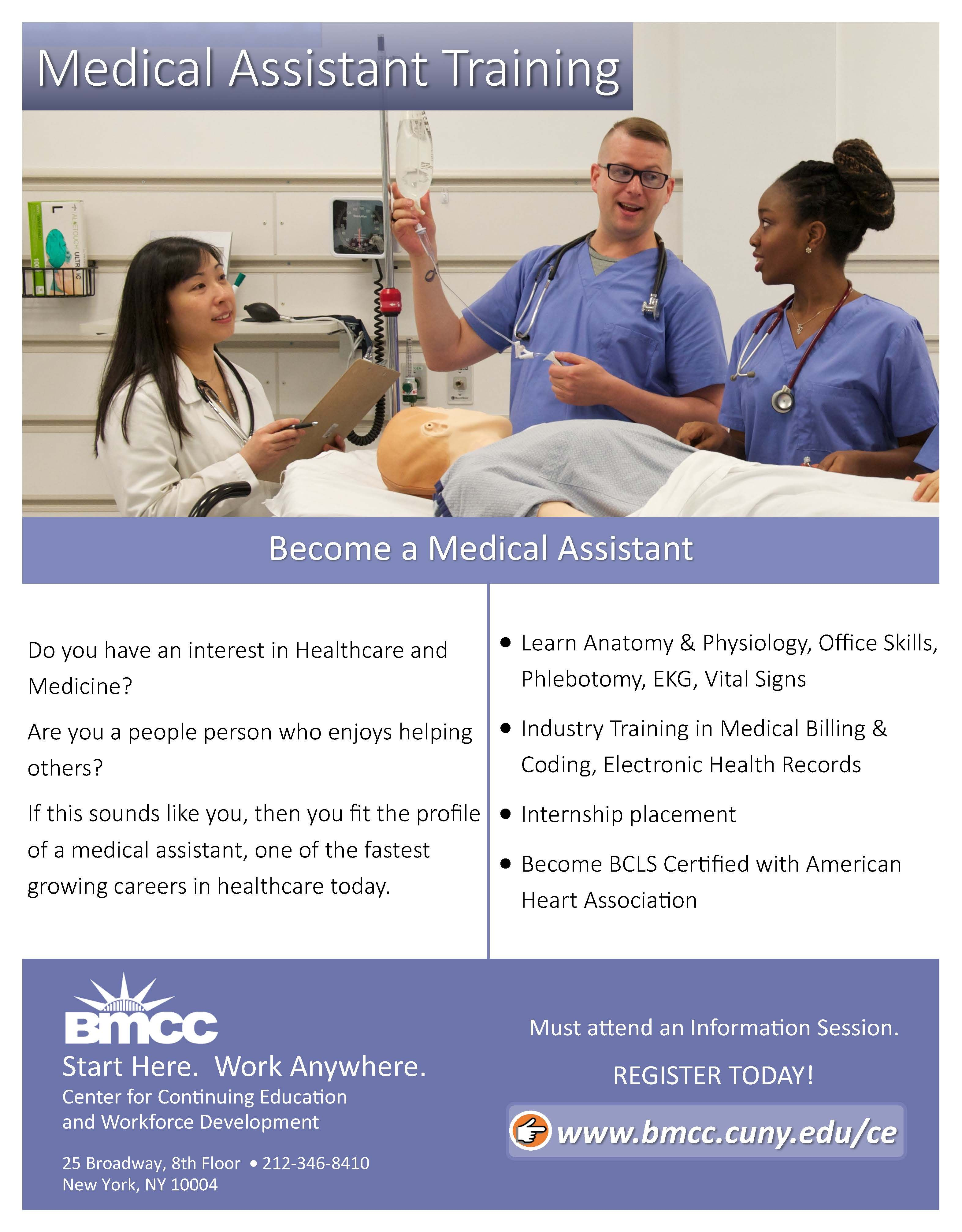 Our Medical Assistant Program Will Prepare Students To Handle A