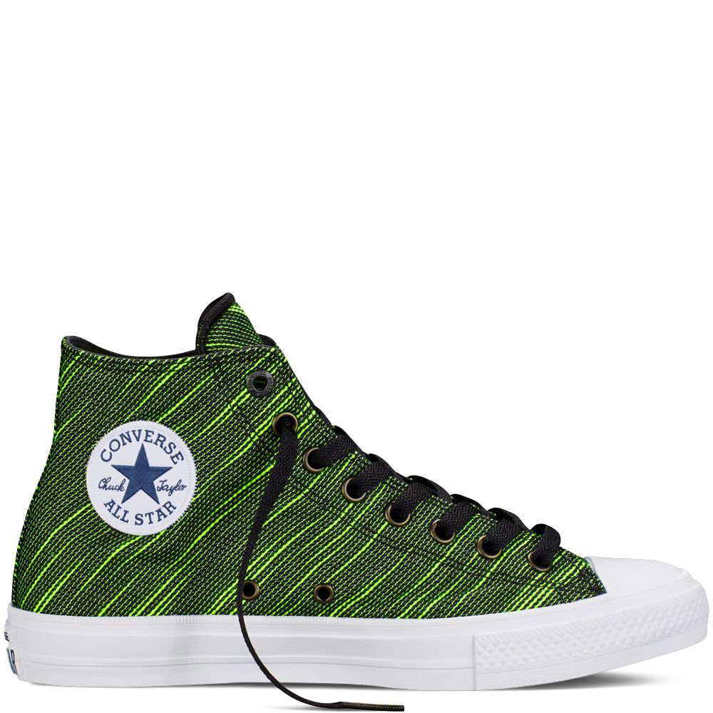 The Converse Chuck Taylor All Star II retains the iconic Chuck Taylor All  Star silhouette you