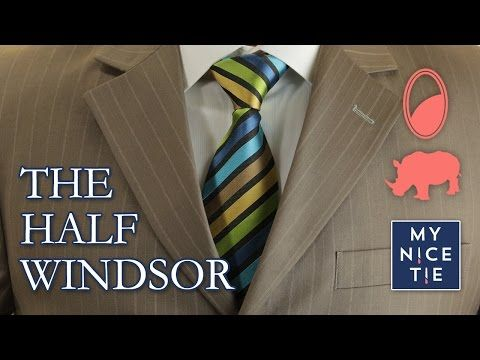 How to tie a tie the trinity knot slowmirroredbeginner how how to tie a tie the trinity knot slowmirroredbeginner ccuart Image collections