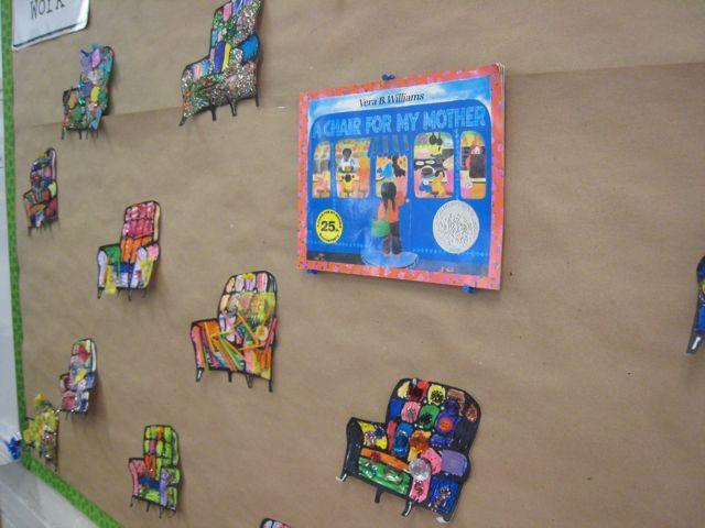 A Chair For My Mother Activity Idea Classroom Ideas Classroom