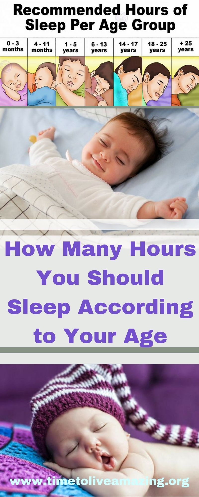 How Many Hours You Should Sleep According to Your Age ...