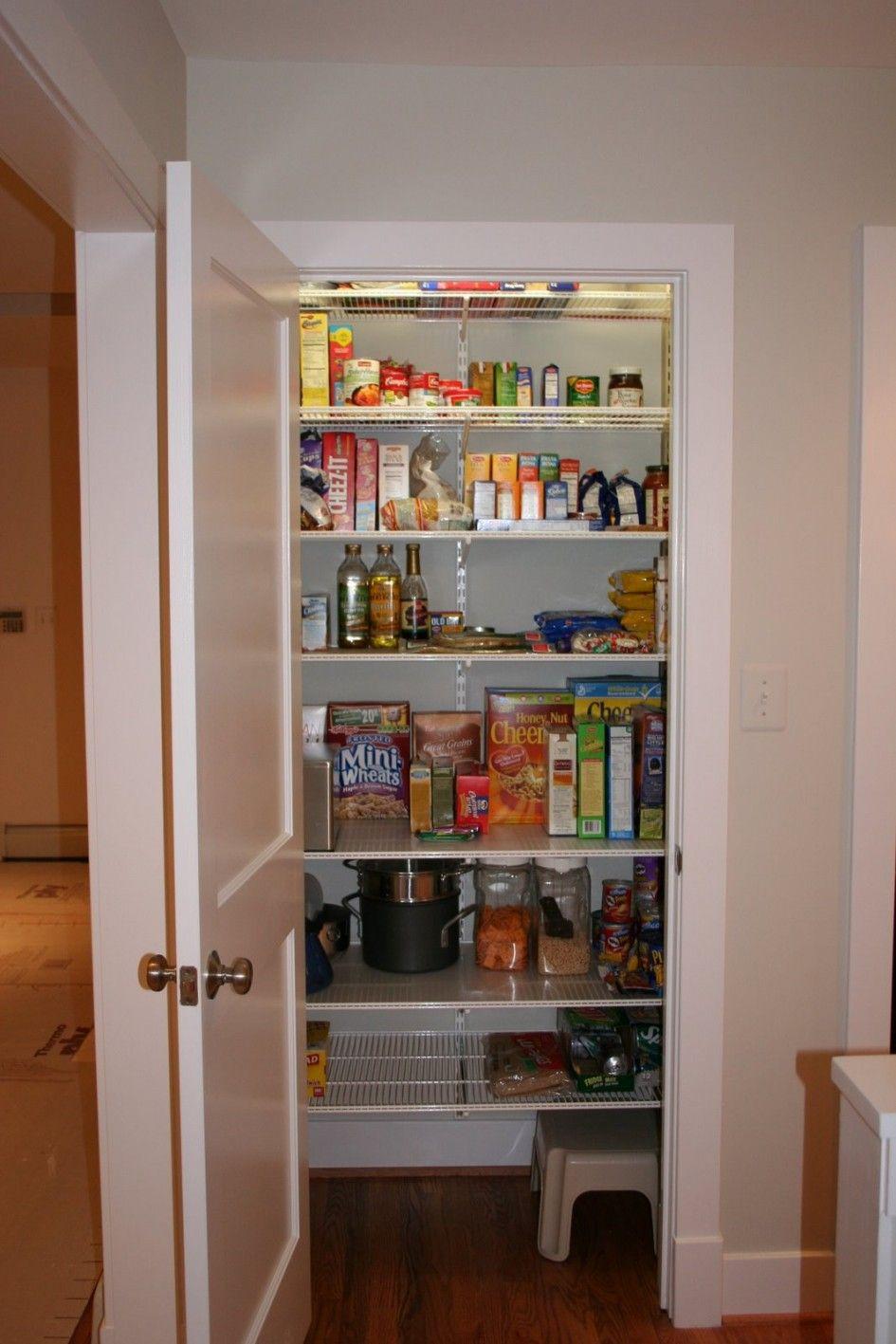 creative pantry shelving systems home shelving ideas ...