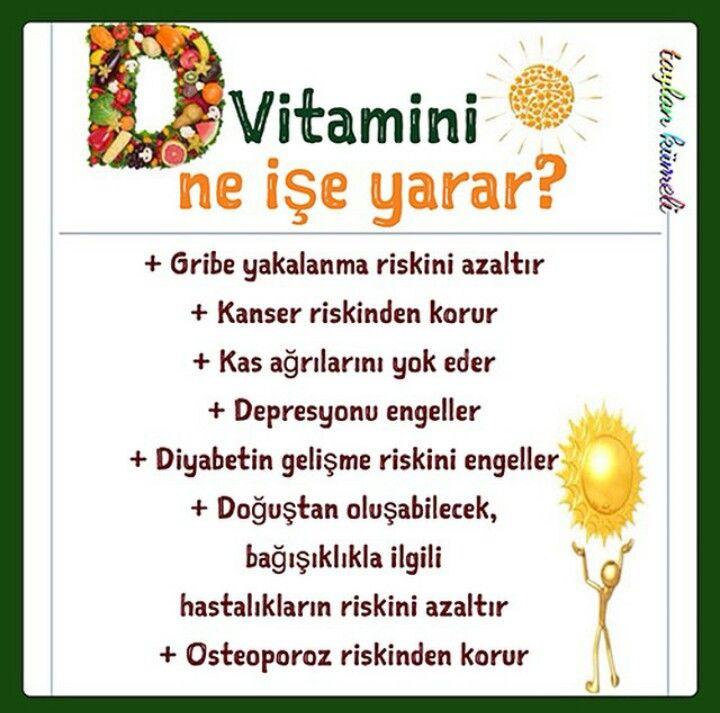 D Vitamini Dogal Saglik Saglikli Saglikli Yasam Tarzi