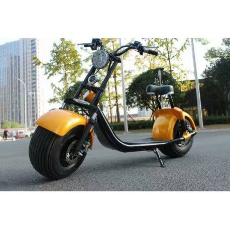 scooter harley elektro roller 1000w 60v akku. Black Bedroom Furniture Sets. Home Design Ideas