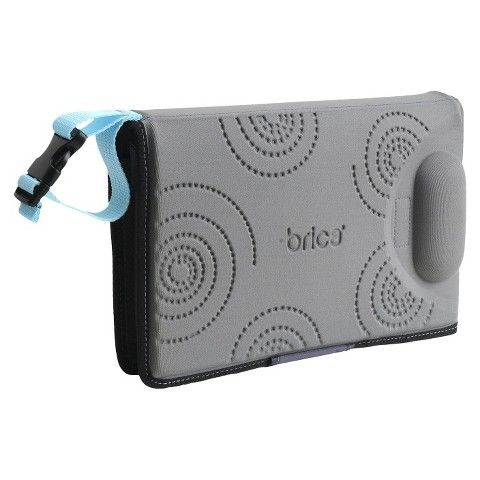 Grey Munchkin BRICA goPad Diaper Changer Black