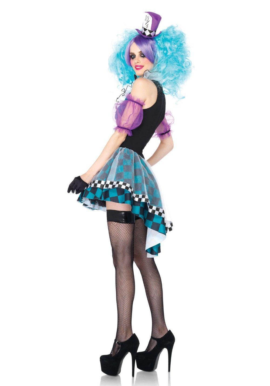 F1536 B Disfraces halloween mujer, Disfraces sombrerero