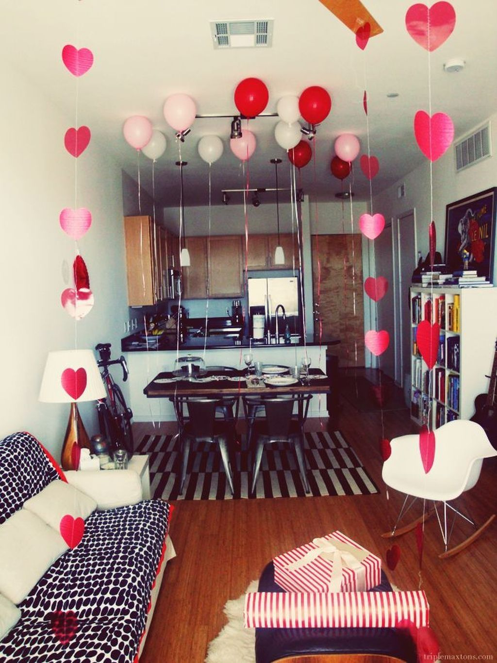Your valentine   day should be remarkable and leave an unforgettable impression in the mind of also cute decoration ideas for interior design rh pinterest
