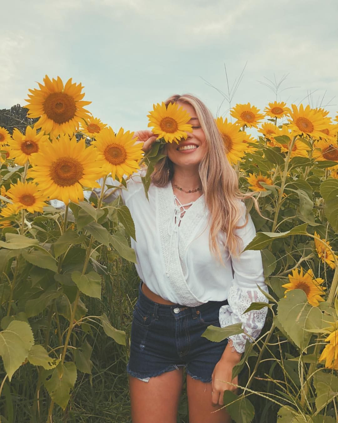 "Monica on Instagram: """"Despite knowing they won't be here for long they still choose to live their brightest lives -sunflowers"" �� Head over to IGTV to watch the…"""