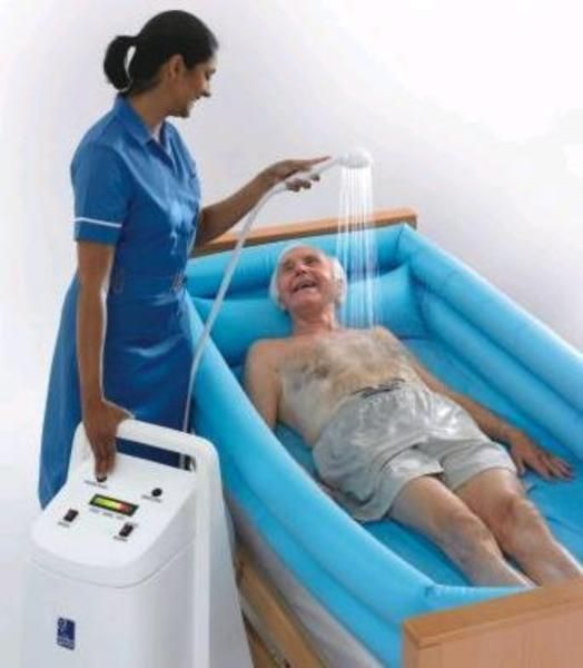 buy second hand water genie care portable bath for disabled bathtub ...