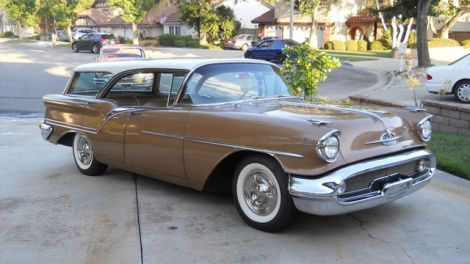 Survivor 1957 Oldsmobile Super 88 Fiesta Wagon is rare and beautiful