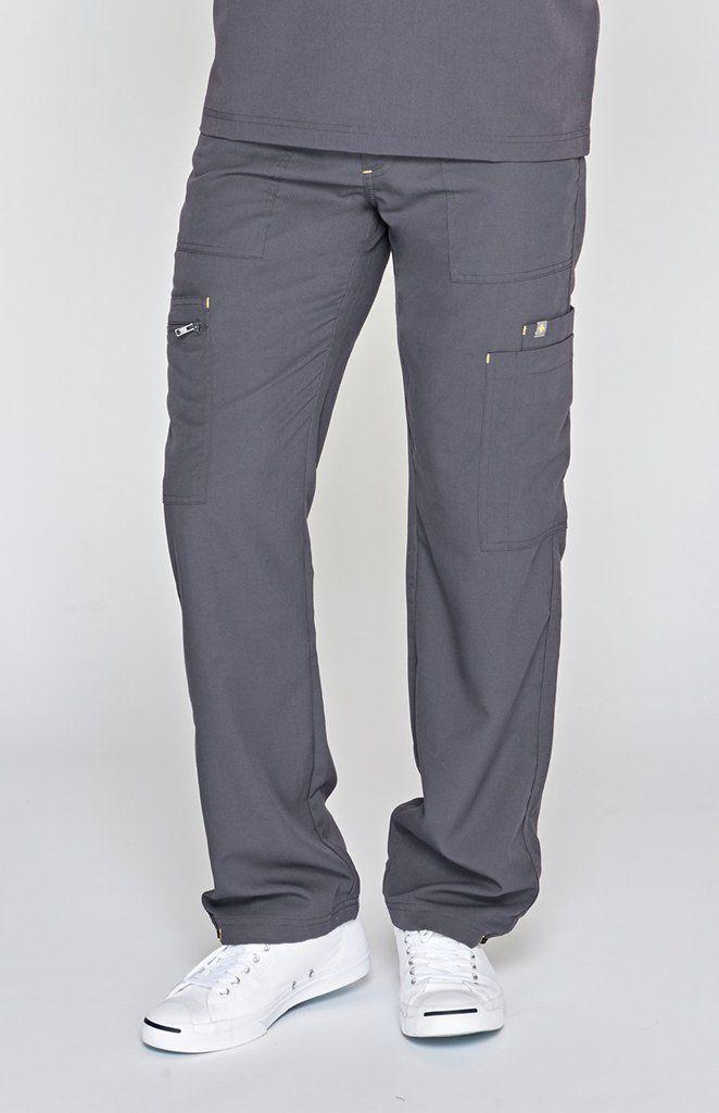 50b4a96b9b8 men's tela cargo scrub pants - charcoal | medical | Scrub pants ...