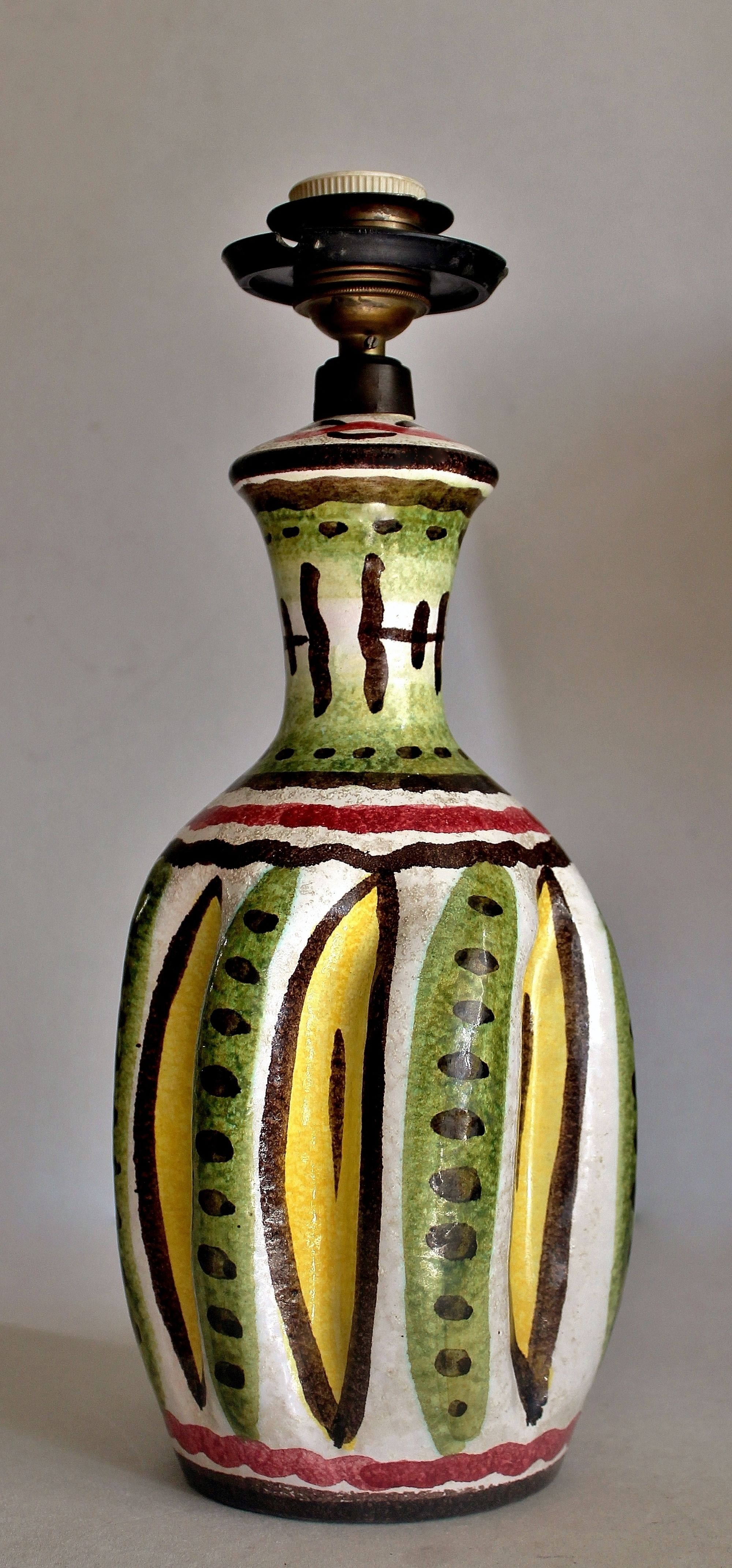 Your Place To Buy And Sell All Things Handmade Ceramic Lamp Base Italian Pottery Mid Century Modern Lighting