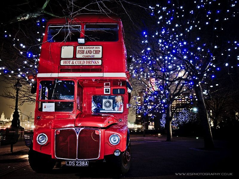 London Bus on the South Bank of the River Thames by Ian Schofield on 500px
