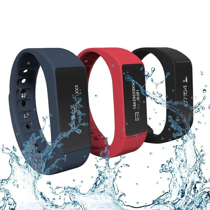 I5 PLUS Waterproof Bluetooth Smart Wristband Bracelet For IOS Android. I5 PLUS Waterproof Bluetooth Smart Wristband Bracelet For IOS Android    This is a new product with waterproof function, which enables remote camera,it is light and easy to carry.    Configuration and functions:  1. 0.91 inch OLED screen; Screen resolution: 128 * 32 Pixels  2. Food grade TPU strap, PC main body;  3. The dual-mode control: touch control and palming at the time the two control  4. Low-power Bluetooth 4.0…