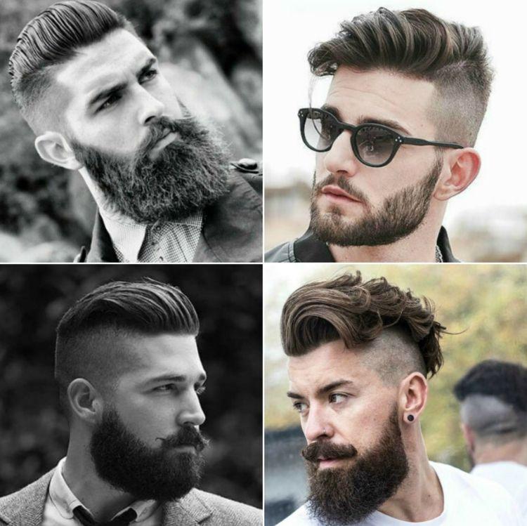 Frisuren Mit Bart Richtig Kombinieren 5 Trend Frisuren Und Die Passende Bartlange Vollbart Frisuren Kurze Haare Und Bart