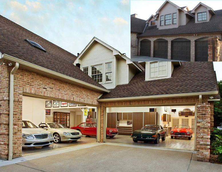 Design Build Additions Galleries Dallas Renovation Group Garage House Plans Luxury Garage Garage Decor
