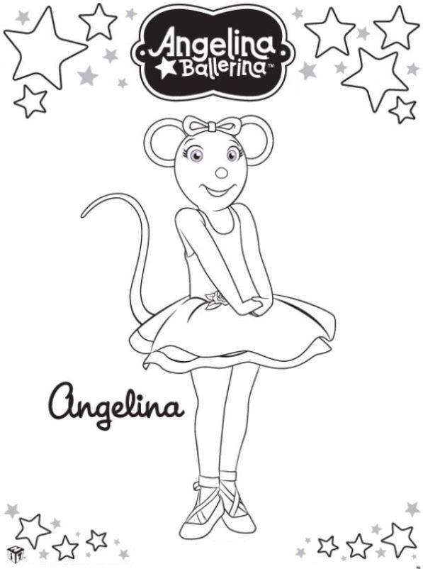 Kleurplaat Van Angelina Ballerina Kleurplaten Gratis Kleurplaten Kinderfeestjes