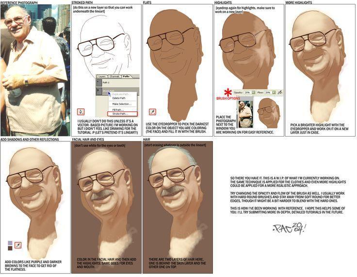 Anatomi Ten 19 / Anatomy Skin 19 - oO PStutorial1 Oo by - | ( http://pacman23.deviantart.com ) | - #Anatomi #anatomy #ten #skin #drawing #design #sketch #sketching #character #digital #digitalpainting