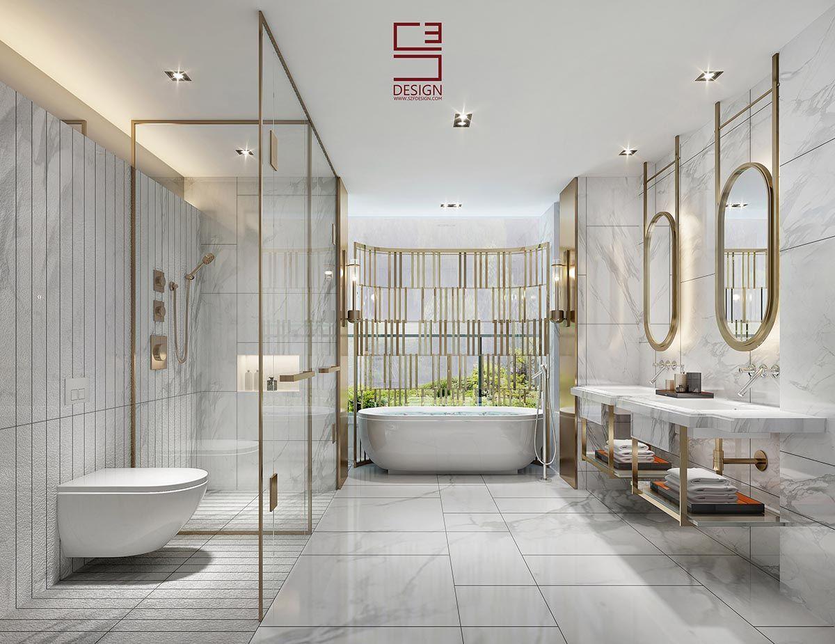 Luxury Hotel Bathroom Hotel Bathrooms Modern Bathrooms