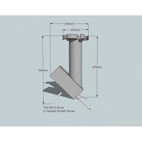 Resultado De Imagen Para Medidas Rocket Stove Estufas Cohetes