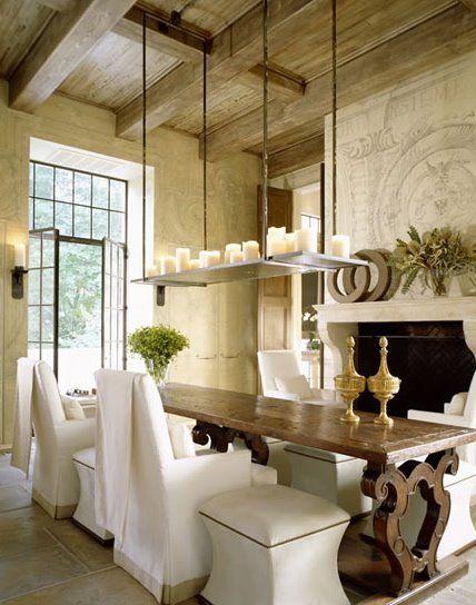 John Saladino Dining Room   Imageck