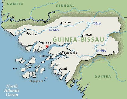 Part 1 1abc Guinea Bissau is in the continent of Africa It is