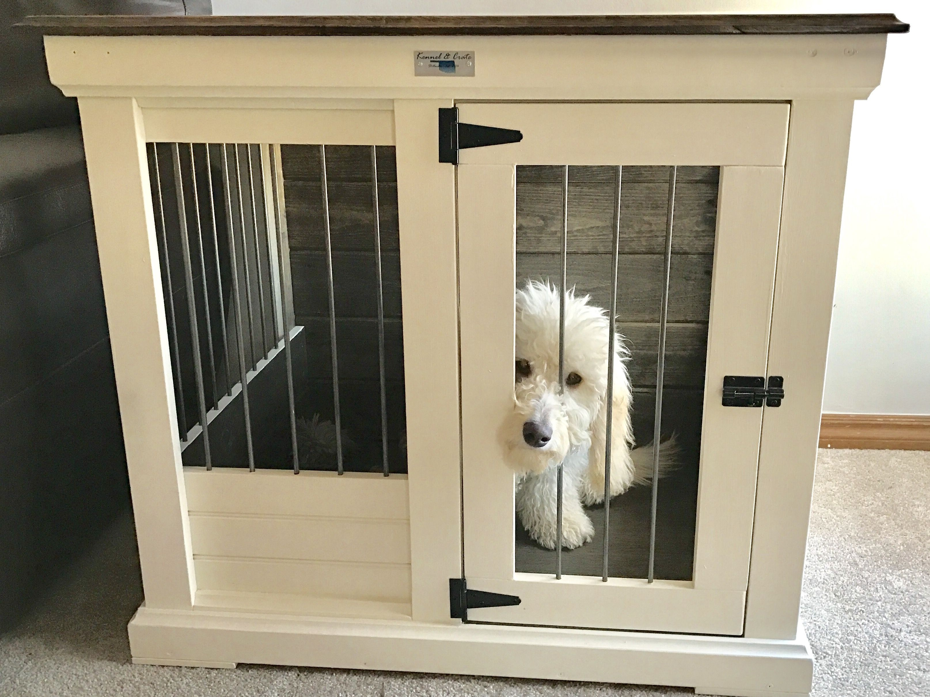 Urban Farmhouse Design Single Large Dog Kennel It S Furniture For