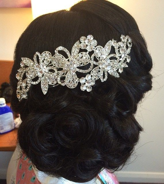 50 Dreamy Wedding Hairstyles For Long Hair: 50 Superb Black Wedding Hairstyles