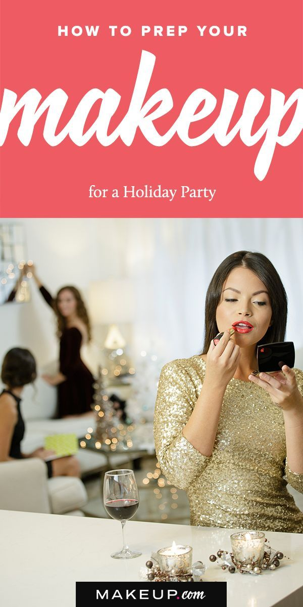 How to Prep Your Makeup for a Holiday Party