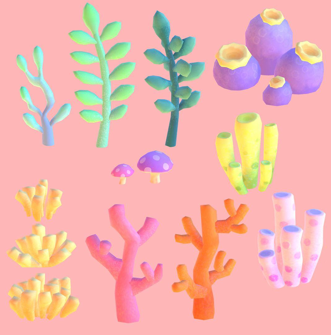 Flora Palette En 2020 Anime